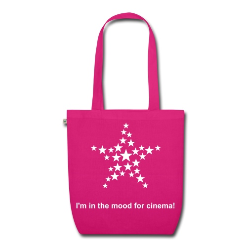 I'm in the mood for cinema! - Sac en tissu biologique