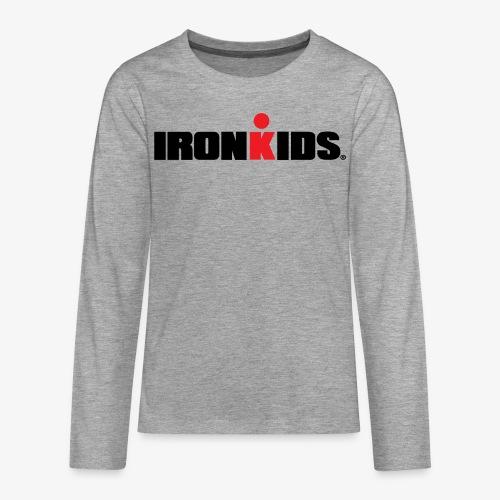 IRONKIDS - Teenagers' Premium Longsleeve Shirt - Teenagers' Premium Longsleeve Shirt