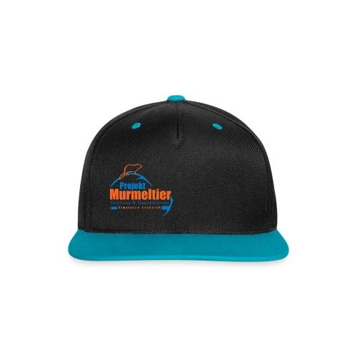 Murmeltier Cap  - Kontrast Snapback Cap