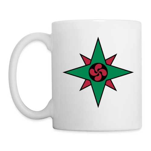 Basque star 08 - Mug blanc