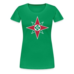 Basque star 08 - T-shirt Premium Femme