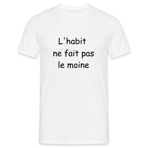 L'habit - T-shirt Homme