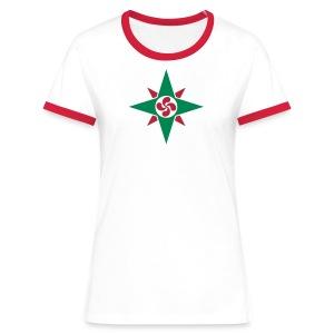 Basque star 08 - T-shirt contrasté Femme