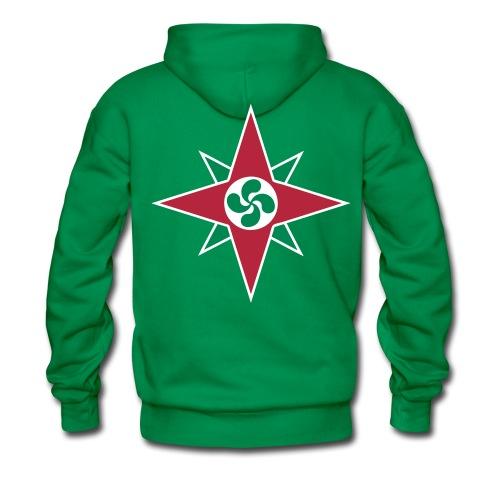 Basque star 08 - Sweat-shirt à capuche Premium pour hommes