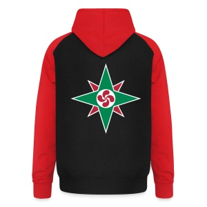 Basque star 08 - Sweat-shirt baseball unisexe