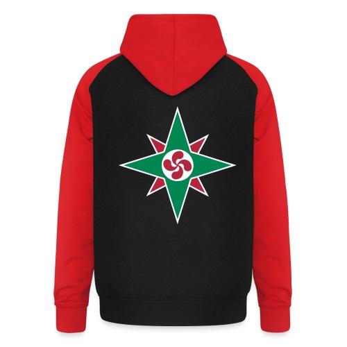 Basque star 08 - Sweat-shirt baseball unisexe
