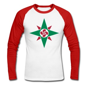 Basque star 08 - T-shirt baseball manches longues Homme