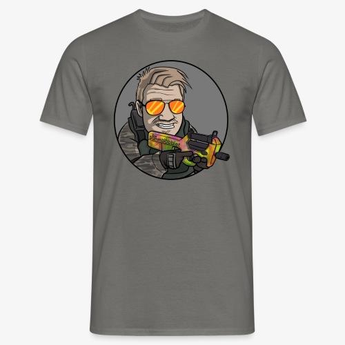 DerDummbabbler P90 T-Shirt - Männer T-Shirt