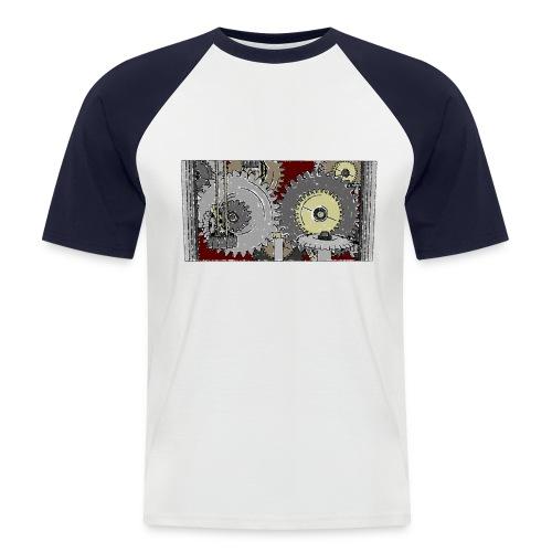 Roboter Shirt - Männer Baseball-T-Shirt