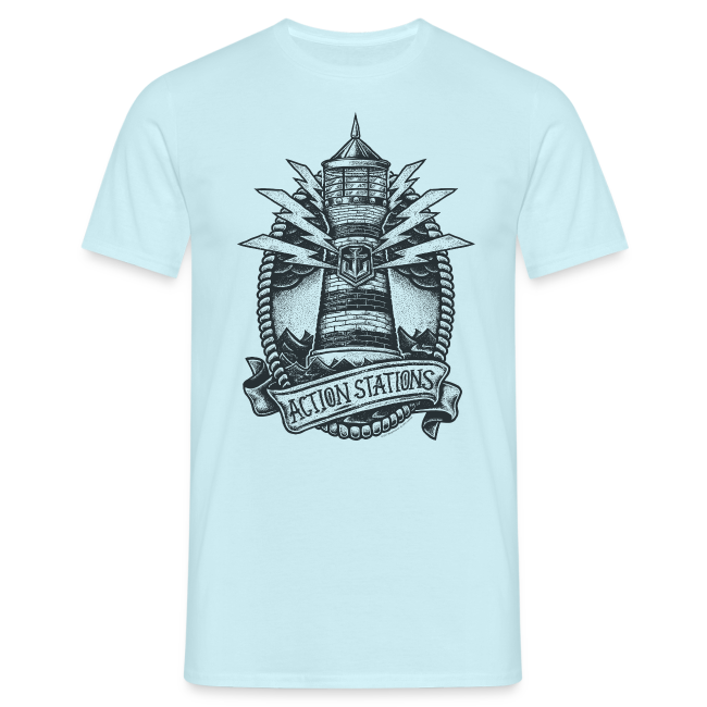 Lighthouse Collection - Men's T-Shirt
