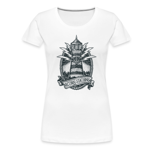 Lighthouse Collection - Women's Premium T-Shirt - Women's Premium T-Shirt