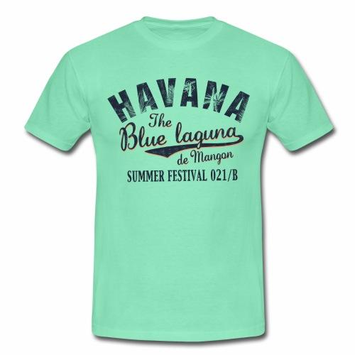 Havana_Blue Laguna summer - Männer T-Shirt
