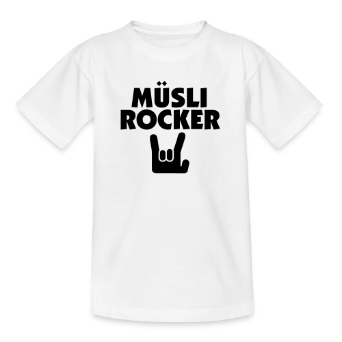 Müslirocker - Teenager T-Shirt