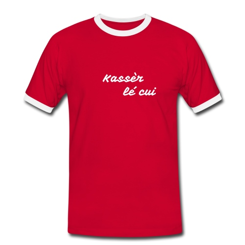 KREOL POWER - T-shirt contrasté Homme