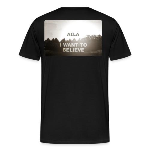 Aila2 - Miesten premium t-paita