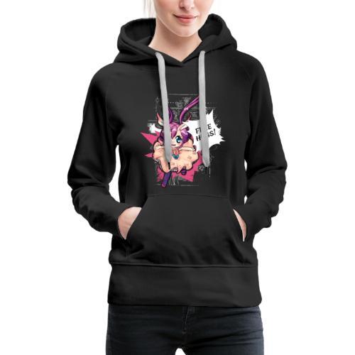 Women's Hoodie: Free Hugs (dark clothing) - Women's Premium Hoodie