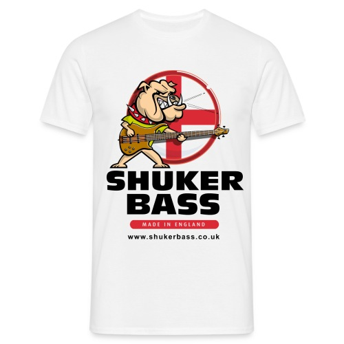 Shuker Bulldog T shirt - Men's T-Shirt