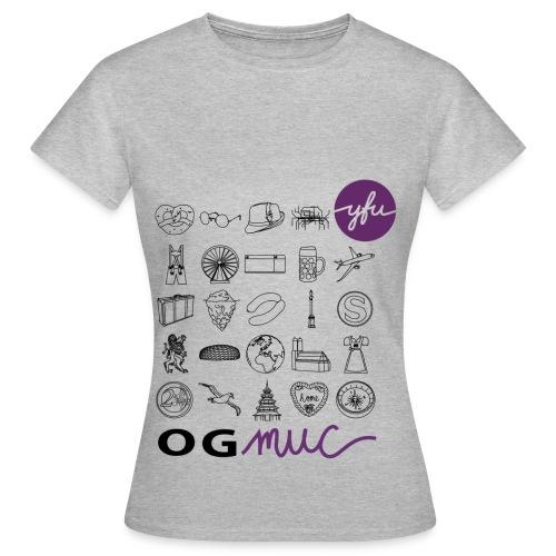 OG München 2017 Frauen - Frauen T-Shirt