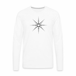 Techno is Love - langarm Shirt - Männer Premium Langarmshirt