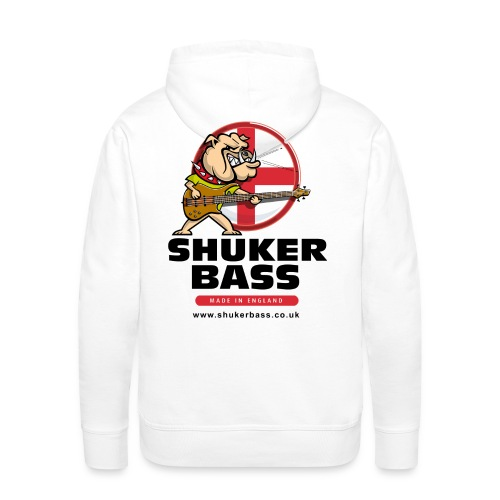 Shuker Bulldog Hoodie - Men's Premium Hoodie