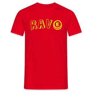Rave with an E - Men's T-Shirt