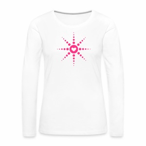 Techno is Love - langarm Shirt - Frauen Premium Langarmshirt