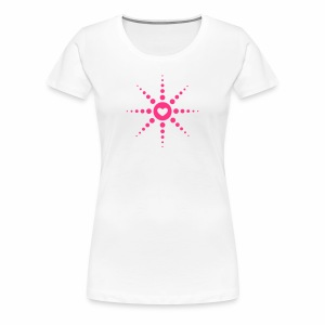 Techno is Love - T-Shirt - Frauen Premium T-Shirt