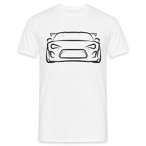 Rocket Bunny Toyota GT86 T-Shirt (Black Graphic) Mens - Men's T-Shirt
