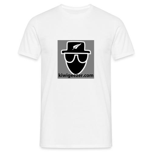 kiwigeezer.com t-shirt 1 - Men's T-Shirt
