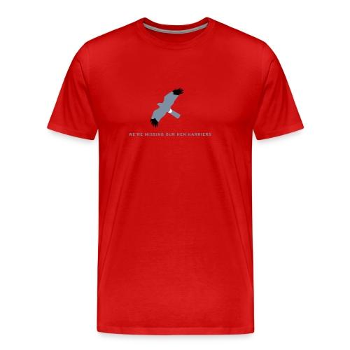 BAWC Hen Harrier Day Men's T-Shirt  - Men's Premium T-Shirt