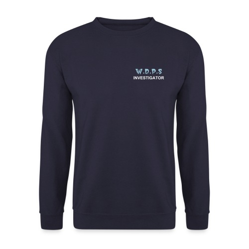 NEW LOOK - W.D.P.S Investigator Sweatshirt - Men's Sweatshirt