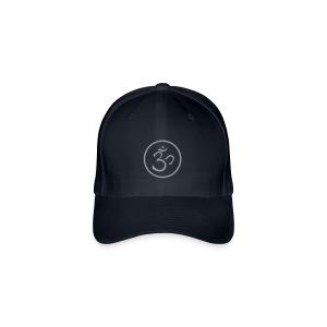 OM (Flock Print) - Flexfit Baseball Cap - Flexfit Baseballkappe