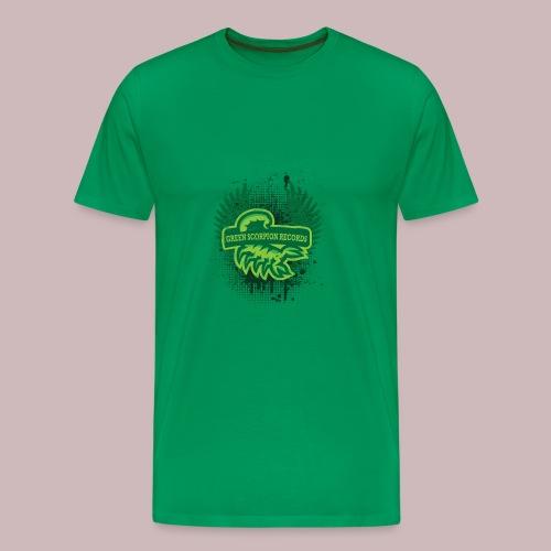 ''Green Scorpion Records'' Shirt - Männer Premium T-Shirt