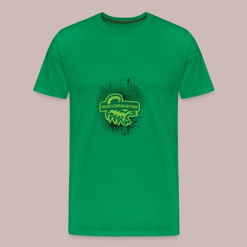 ''Green Scorpion Records'' Shirt - Männer Premium T-Shirt