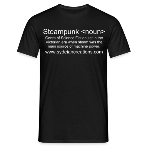 Steampunk Definition - Men's T-Shirt