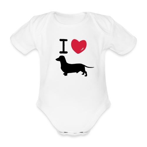 Emilias body - Ekologisk kortärmad babybody