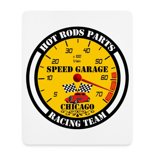 Hot Rods Parts - Mouse Pad (vertical)