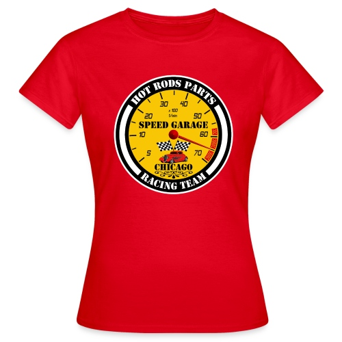 Hot Rods Parts - Women's T-Shirt