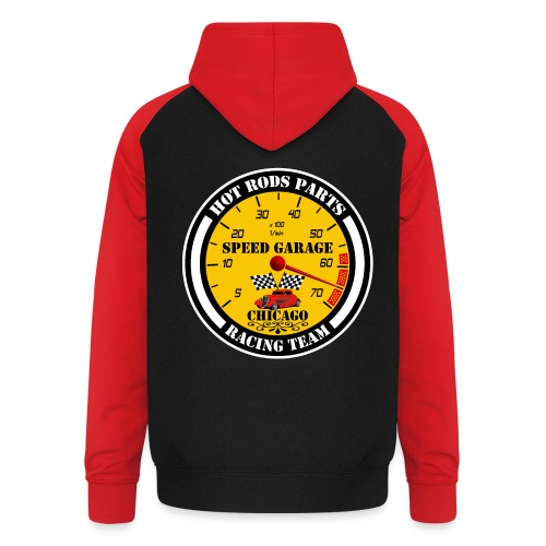 Hot Rods Parts - Unisex Baseball Hoodie