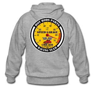 Hot Rods Parts - Men's Premium Hooded Jacket