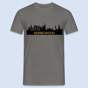BEMBELTOWN DESIGN - BIG APPLE FRANAKFURT - Männer T-Shirt