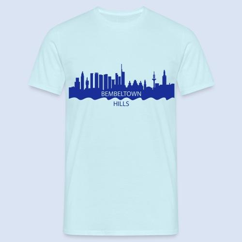 BEMBELTOWN DESIGN - HOLLYWOOD FRANAKFURT - Männer T-Shirt