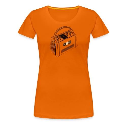 FRS-Shirt Campingradio 02 (Frauen Premium Shirt) - Frauen Premium T-Shirt