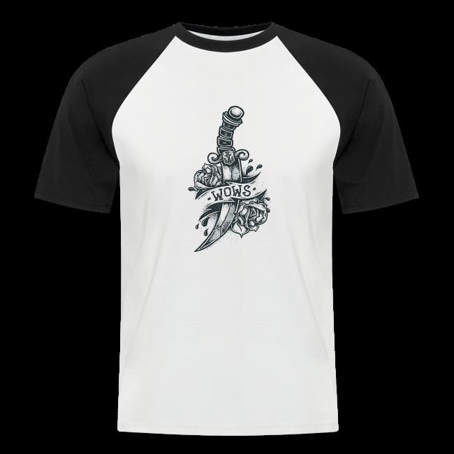 Knife Collection - Men's Baseball T-Shirt