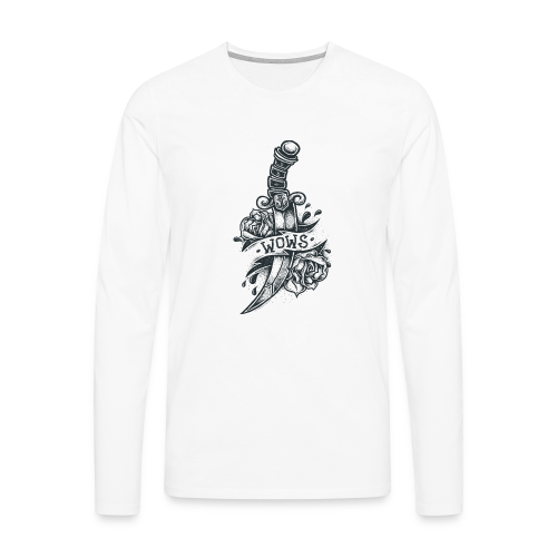Knife Collection - Men's Longsleeve Shirt - Men's Premium Longsleeve Shirt