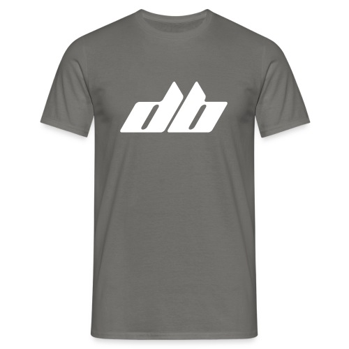 DB Rush Logo Shirt Grey - Männer T-Shirt