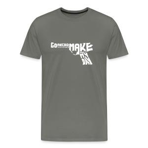 magnum 44 - light text - Men's Premium T-Shirt