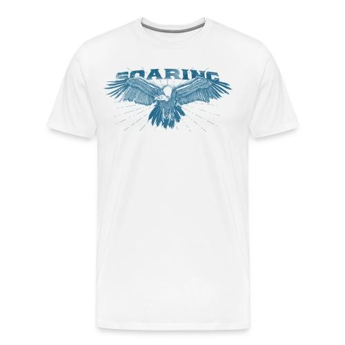 Soaring Vulture - Men's Premium T-Shirt