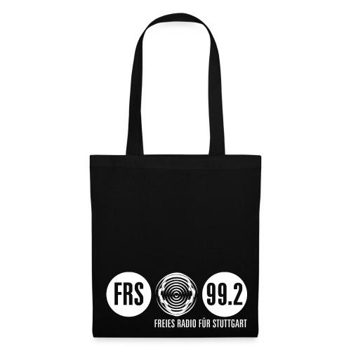 FRS Stoffbeutel, Logo weiß - Stoffbeutel
