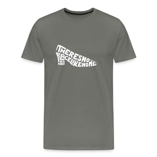 not in kansas - light text - Men's Premium T-Shirt
